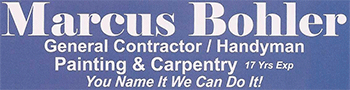 Marcus Bohler Construction